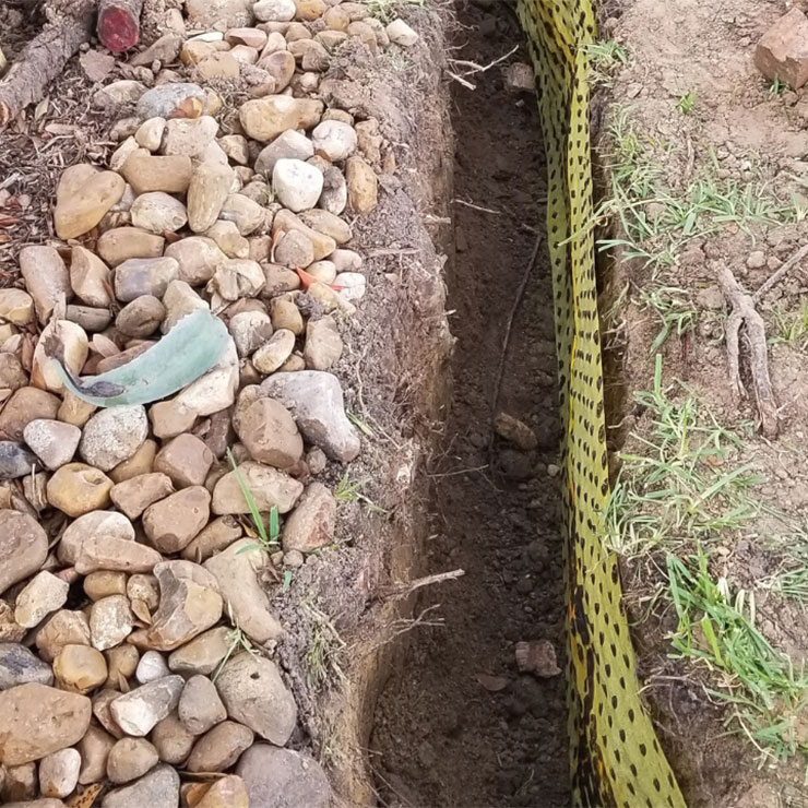 French Drainage System
