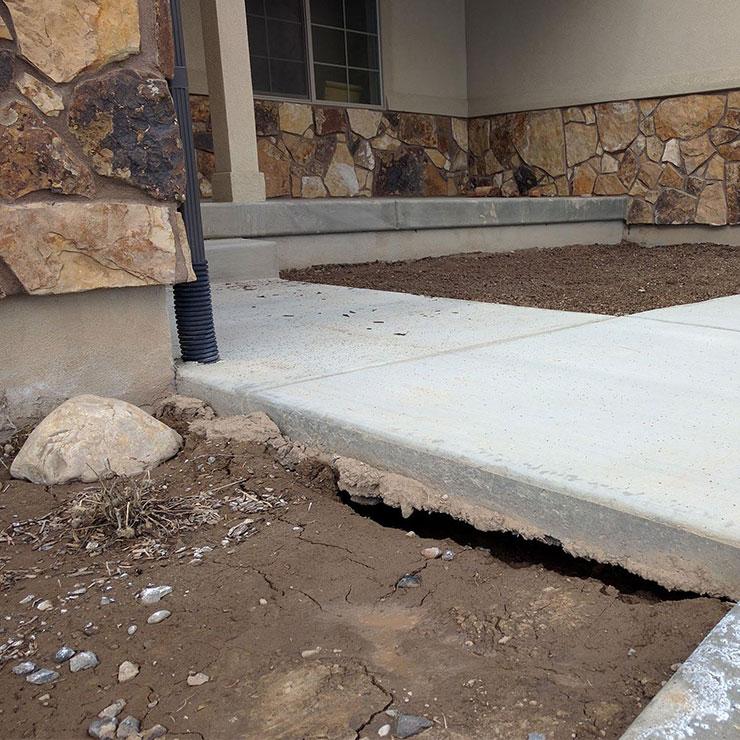 Sewer Leak Foundation Problems