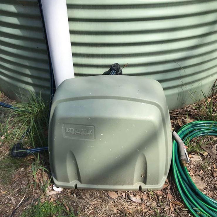 Water Tank Plumbing Connection