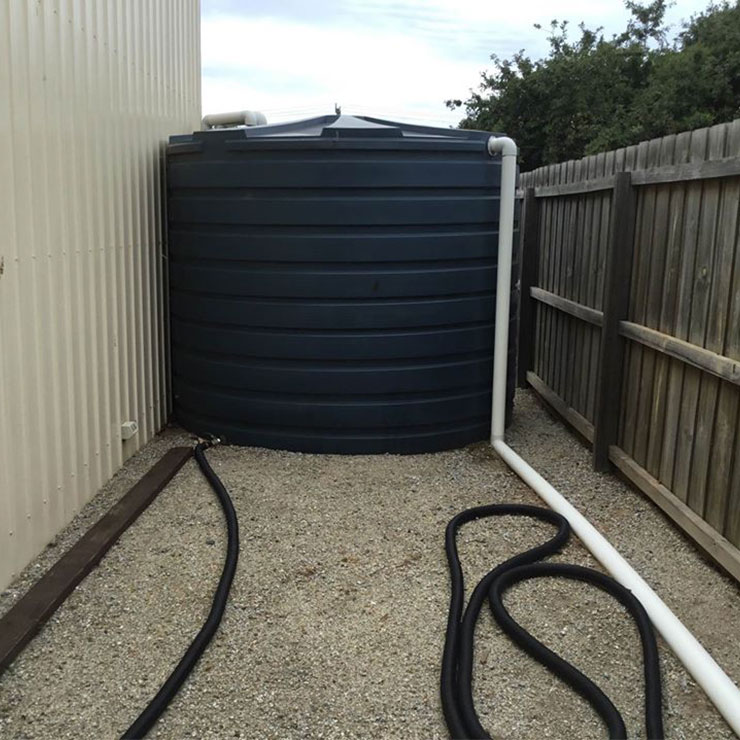 Big Water Tank Installation Melbourne